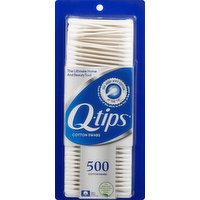 Q Tips Cotton Swabs, 500 Each