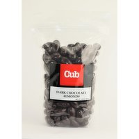 Bulk Dark Chocolate Almonds, 20 Ounce