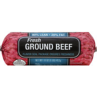 Cub Beef, Ground, 80%/20%, 16 Ounce