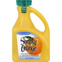 Simply Orange Orange Juice, Calcium & Vitamin D, Pulp Free, 89 Ounce