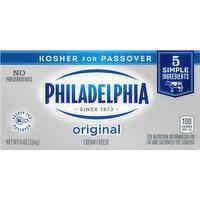 Philadelphia Cream Cheese, Original, 8 Ounce