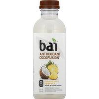Bai Antioxidant Beverage, Puna Coconut Pineapple, 18 Ounce