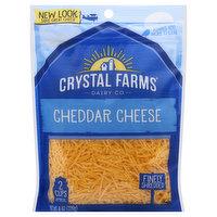 Crystal Farms Cheese, Cheddar, Finely Shredded, 8 Ounce