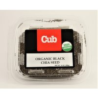 Bulk Organic Black Chia Seed, 9 Ounce