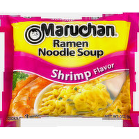 Maruchan Maruchan Ramen Noodle Soup Shrimp, 3 Ounce