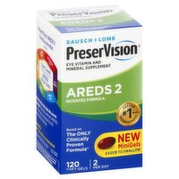PreserVision AREDS 2 Formula, Softgels, 120 Each