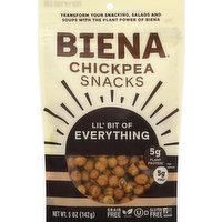 Biena Chickpea Snacks, Lil' Bit of Everything, 5 Ounce