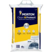 Morton Water Softener Pellets, 40 Pound