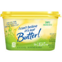 I Cant Believe Its Not Butter Vegetable Oil Spread, The Light One, 15 Ounce