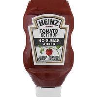Heinz Tomato Ketchup, No Sugar Added, 29.5 Ounce