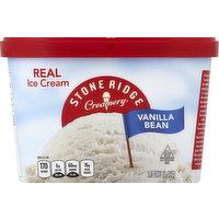 Stoneridge Creamery Ice Cream, Vanilla Bean, 1.5 Quart