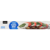 Essential Everyday Plastic Wrap, Clear, 200 Square Feet, 1 Each