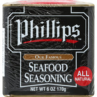 Phillips Seafood Seasoning, 6 Ounce