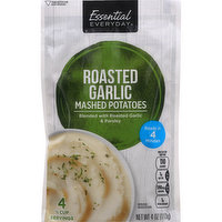 Essential Everyday Mashed Potatoes, Roasted Garlic, 4 Ounce