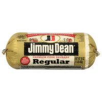 Jimmy Dean Pork Sausage, Premium, Regular, 16 Ounce