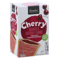 Essential Everyday Toaster Pastries, Cherry, Frosted, 6 Each