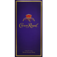 Crown Royal Whisky, Blended Canadian, Fine De Luxe, 1.75 Litre