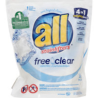 all Detergent, with Stainlifters, Free Clear, 39 Each