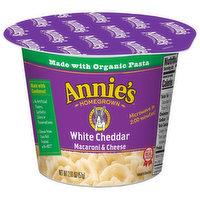 Annies Macaroni & Cheese, White Cheddar, 2.01 Ounce