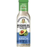 Newman's Own Dressing, Dairy Free, Ranch, 8 Ounce