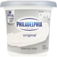 Philadelphia Cream Cheese Spread, Original, 16 Ounce