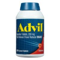 Advil Ibuprofen, 200 mg, Coated Tablets, 300 Each