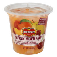 Del Monte Cherry Mixed Fruit, 7 Ounce