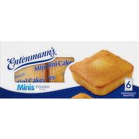 Entenmann's Pound Cake, Minis, 6 Pack, 6 Each