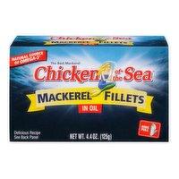 Chicken of the Sea Mackerel Fillets in Oil, 4.4 Ounce