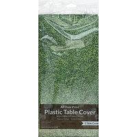 Creative Converting Table Cover, Plastic, Sports Fanatic-Grass, 1 Each