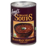 Amy's Soup, Low Fat, Organic, Black Bean Vegetable, 14.5 Ounce