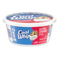 Cool Whip Whipped Topping, Extra Creamy, 8 Ounce