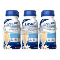 Ensure Nutrition Shake, Vanilla, Original, 6 Each