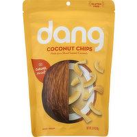 Dang Coconut Chips, Sea Salt, Caramel, 3.17 Ounce