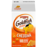 Goldfish Baked Snack Crackers, Cheddar, 30 Ounce