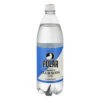 Polar Club Soda, 1 Litre