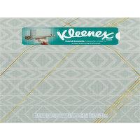 Kleenex Hand Towels, 1-Ply, Metallic Blue, 60 Each