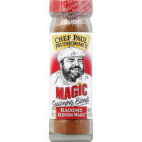 Chef Paul Prudhomme's Seasoning Blends, Blackened Redfish Magic, 2 Ounce