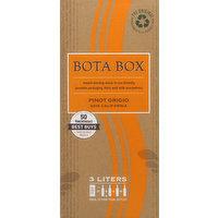 Bota Box Pinot Grigio, California, 2018, 3 Litre