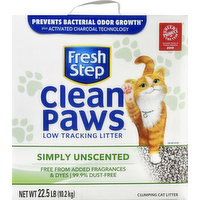 Fresh Step Clumping Cat Litter, Simply Unscented, 22.5 Pound