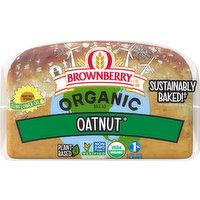 Brownberry Bread, Organic, Oatnut, 27 Ounce