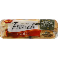 Artisan Hearth Rolls, French, 8 Each