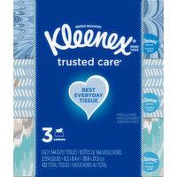 Kleenex Tissue, 2-Ply, 3 Each