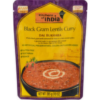 Kitchens of India Black Gram Lentils Curry, Dal Bukhara, Mild, 285 Gram