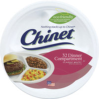 Chinet Plates, All Occasion, Classic White, 60 Each