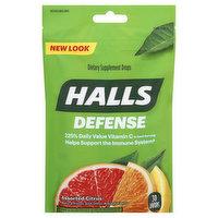 Halls Drops, Assorted Citrus, Defense, 30 Each