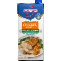 Swanson Broth, Chicken, 100% Natural, 32 Ounce