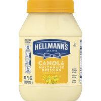 Hellmann's Mayonnaise Dressing, Canola, 30 Ounce