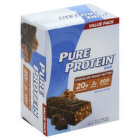 Pure Protein Pure Protein Bar, Chocolate Peanut Butter, Value Pack, 6 Each