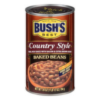 Bushs Best Baked Beans, Country Style, 28 Ounce